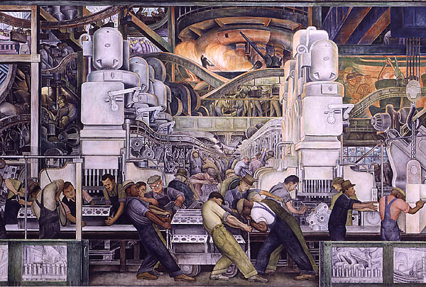 Diego Ravera,  Detroit Industry, North Wall (Best)