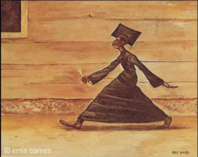 The Graduate - Ernie Barnes